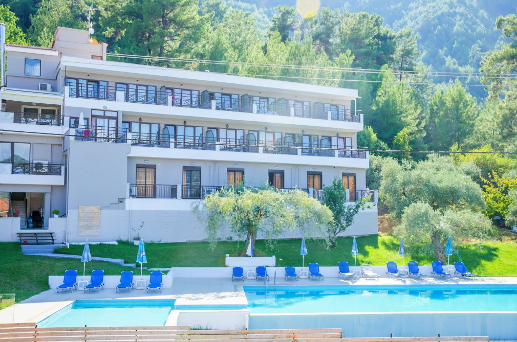 Hotel Aloe Peaceful And Memorable Stay In Thassos